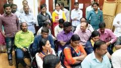 Parents protest against school admin