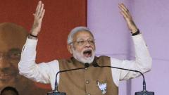 Cong abusing my mother as it lacks strength to fight me, says PM Modi