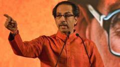 "Crop insurance as ""big"" a scam as Rafale: Uddhav Thackeray"