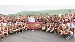 NDA cadets test physical endurance during Cross Country Championship