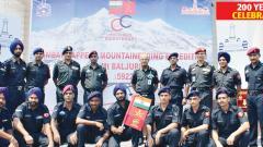 BEG&C team to summit Mount Baljuri