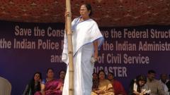 Will continue 'satyagraha' till country is saved: Mamata