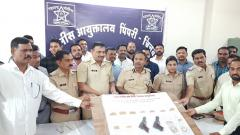 Wakad cops nab 2 dacoits, recover ornaments worth around Rs 23 lakh
