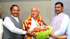Yediyurappa wins trust vote; Speaker resigns