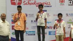 Dhaivat Apte clinches gold medal