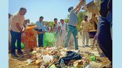 Cleanliness drive held in Alandi Devachi