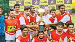 St Vincent's 2014 boys clinch football title
