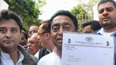 Kamal Nath stakes claim to form government in MP
