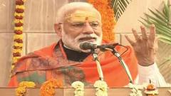 Modi lays foundation stone of Kashi Vishwanath temple corridor