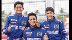 Ashwin leads Momentum team to podium sweep