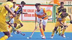 Fighting Maharashtra lose to Gangpur