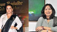 'Dhunn Badalke Toh Dekho', say Vidya Balan and Abha Singh