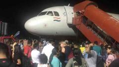 185 stuck as Air India airplane's engine fails