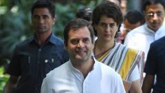 Cong crisis: Gehlot, Pilot and Priyanka meet Rahul Gandhi