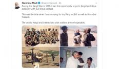 PM pays tributes to soldiers on 20th anniversary of Kargil war