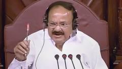 RS Members congratulate Naidu on completion of all questions during Question Hour