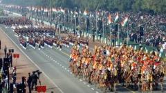 Republic Day celebrations at Rajpath underway