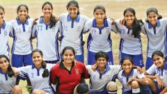 St Mary's girls win Under-17 title