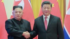 President Xi Jinping arrives in North Korea to meet Kim ahead of Trump talks