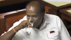 Not misusing power to save govt, says Kumaraswamy