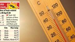 State reports 3 heat-related deaths