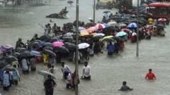 Heavy rains continue to pound Mumbai & suburbs