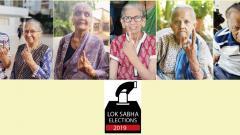LokSabha 2019: Senior citizens exercise their right to vote