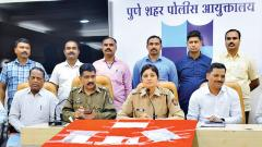 Crime Branch nabs six goons, solves 38 cases