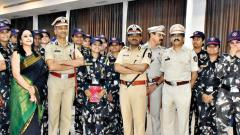 Damini Squad feted for ensuring women's safety