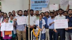 MARD continues to protest indefinitely, IMA to withdraw strike