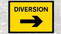 Traffic diversions at Nashik Phata