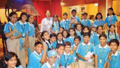 Orbis School students learn history at Kelkar Museum