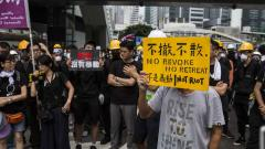 Hong Kong police clear streets as protesters move to park