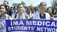 WB docs' stir: IMA launches 3-day nationwide protest, calls for strike on June 17