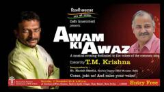 T M Krishna to perform at AAP govt's event in Delhi on Nov 17