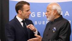 PM Modi, French president discuss ways to deepen strategic partnership