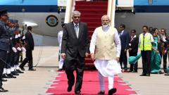 PM Modi meets top Lankan leadership; describes terrorism as a 'joint threat'
