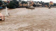 Low-lying areas flooded after heavy overnight rains in Nashik