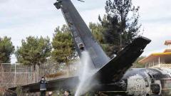 Cargo plane crashes in Iran; 1 survivor from 16 on board
