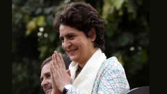 Priyanka gets cracking after debut in UP as Cong gen secy