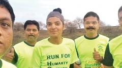 Sufiya's Kashmir to Kanyakumari run for 'HOPE'