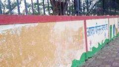 Corporators' messages for Swachh survey deface city