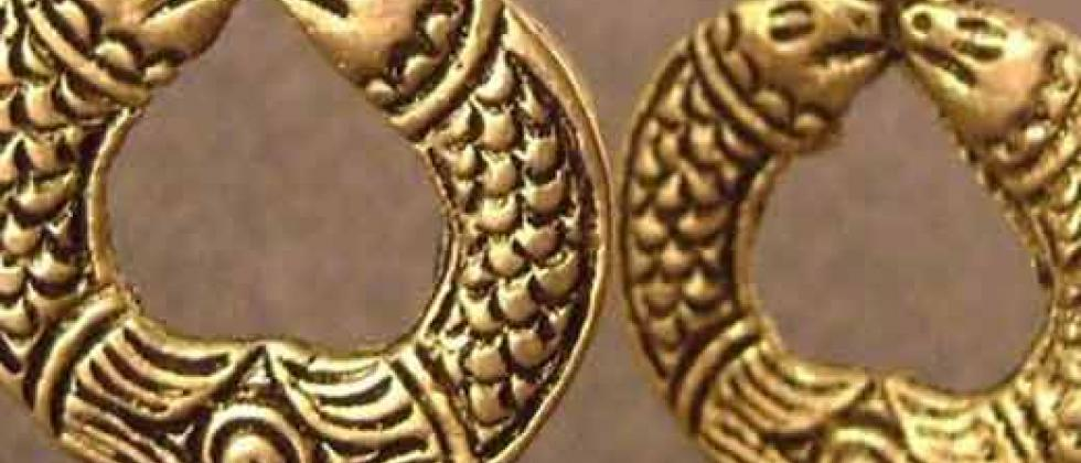 dhokra-earrings